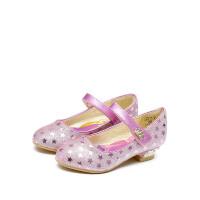 【99元任选2双】迪士尼童鞋女童秋季小皮鞋公主鞋 FS1012 DS2321