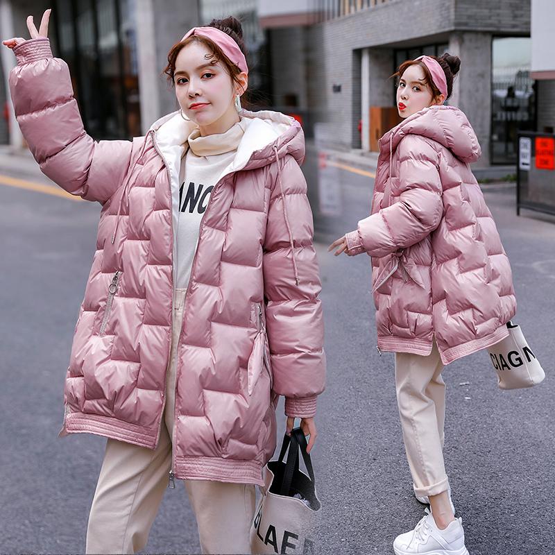 冬季孕妇怀孕后期棉衣外套2019年冬季新款韩版宽松棉袄