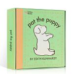 【顺丰速运】英文原版 pat the bunny 拍拍小兔子系列 Puppy 拍拍小狗触摸绘本 香味翻翻玩具书 气味书