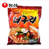 韩国进口食品 农心 小浣熊辣味乌冬面乌龙汤面120g