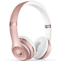Beats Beats Solo3 Wireless无线蓝牙重低音头戴耳机 玫瑰金色