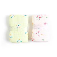 全棉时代 婴童6层纱布浴巾95cm×95cm2件装