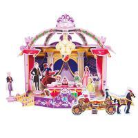 【当当自营】迪士尼拼图 3D立体场景拼图 小公主索菲亚 生日宴会 17DF2102