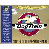 Dog Train [Board Book,by Sandra Boynton] 小狗特快(精装,含CD) ISBN9