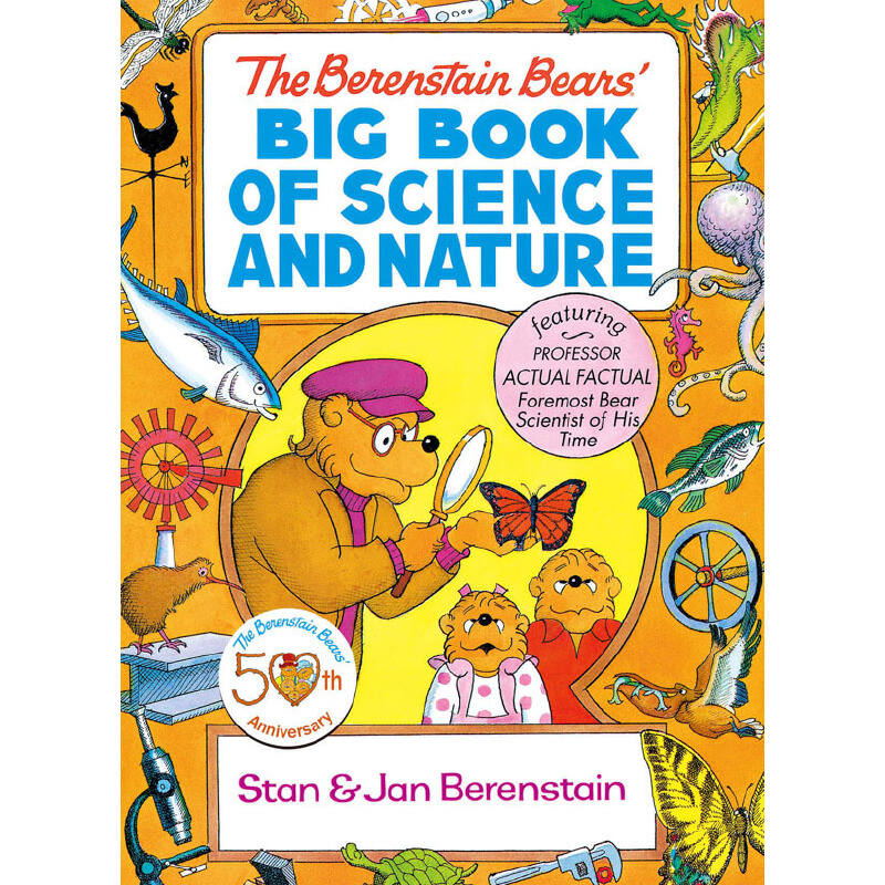 The Berenstain Bears' Big Book of Science and Nature 按需印刷商品,15天发货,非质量问题不接受退换货。