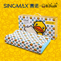 SINOMAX/赛诺小黄鸭B Duck儿童记忆枕头新生儿定型枕记忆棉护颈枕