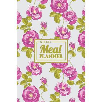 预订 Weekly Meal Planner: Your Food Planner and Tracker Notebook - Floral Jou [ISBN:9781719952408] 美国发货无法退货 约五到八周到货