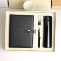 笔记本文具礼盒16G盘礼品保温杯定制商务套装记事本礼盒logo