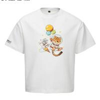 【新款5折特惠价:84元】探路者童装 2021春夏新品户外女童吸湿抗热舒适短袖T恤QAJJ84260