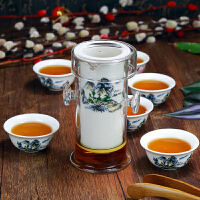 家用陶瓷茶壶茶道茶艺白瓷红茶玻璃泡茶杯功夫茶具套装