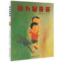因为是哥哥 精装 日本精选儿童成长绘本系列 家庭亲子教育书籍亲子读物 男孩成长绘本 3-6岁儿童故事书