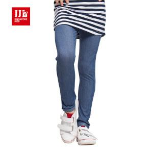 jjlkids季季乐童装女童长裤春秋季打底裤大童舒适小脚裤 GCJ62013