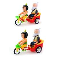 玩具儿童电动金刚骑三轮车带老爷爷玩具车