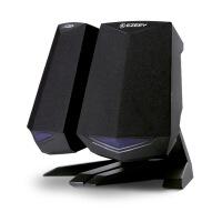 音响 A4电脑音响台式家用迷你低音炮手机通用笔记本USB小音箱组合 黑色 官方标配
