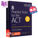 【中商原版】ACT8套习题(第三版)英文原版 8 Practice Tests for the ACT 3rd Edi