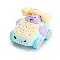 儿童玩具电话机座机婴儿音乐早教0-1-3岁男女孩8个月宝宝