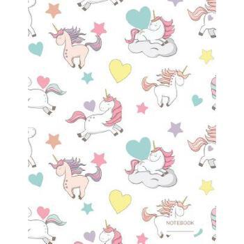 预订 Notebook: Unicorn Pattern (1) Standard College Ruled Paper [ISBN:9781720292982] 美国发货无法退货 约五到八周到货