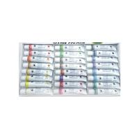 日照鑫 包邮 包邮水彩颜料套装12色 18色 24色 36色 儿童水彩画颜料无毒套装(一套装)