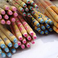 开心果文具?可爱 铅笔造型 可削木质水果橡皮擦