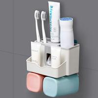泰蜜熊2杯装漱口杯套装刷牙杯架带挤牙膏器