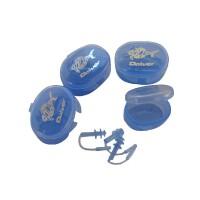 新款游泳必备 男女通用 硅胶游泳耳塞(3个装)