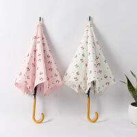 包邮 (双层伞布)不透光三折叠女士太阳伞遮阳伞小黑伞blackumbrella