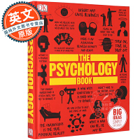 DK心理学百科 英文原版 The Psychology Book: Big Ideas Simply Explaine