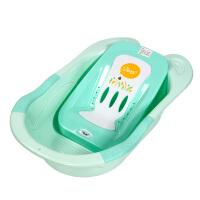 幼蓓Ubee 婴儿浴盆宝宝洗澡盆可坐躺新生儿用品小孩儿童浴桶大号