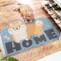 【限时折扣】家用组合法兰绒卡通小猫掌地垫 家用浴室门口吸水脚踏垫长条卧室防滑垫