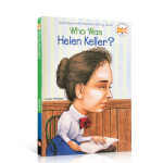 【全店300减110】英文原版 Who Was Helen Keller? 海伦凯勒是谁?纽约时报畅销书 名人传记系列