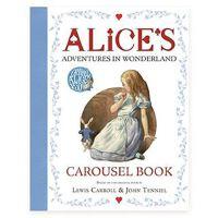 爱丽丝漫游仙境旋转立体书 爱丽丝梦游仙境 英文原版 Alice's Adventures in Wonderland 经典儿童文学 童话故事书 儿童小说