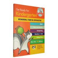 Get Ready for Kindergarten Numbers Time Opposites 幼儿园练习册 数字