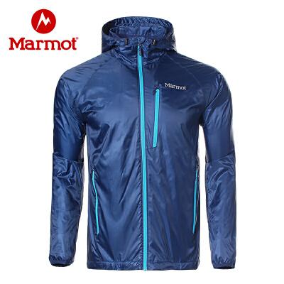 Marmot/土拨鼠运动户外防风透气防泼水神衣轻薄开衫衬衣夹克 VIP专享96折