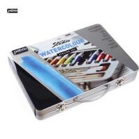 全店满百包邮!法国贝碧欧Pebeo水彩颜料铁盒装 绘画颜料组合套装*300610C