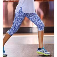 速干吸汗跑步�\�友� 瑜伽�七分�女 舞蹈健身�瑜珈�子 吸�衽藕� 支持�Y品卡