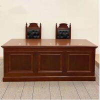 美立居工坊法官桌MLJ-Z118诉讼桌陪审桌(规格1600*800*760)