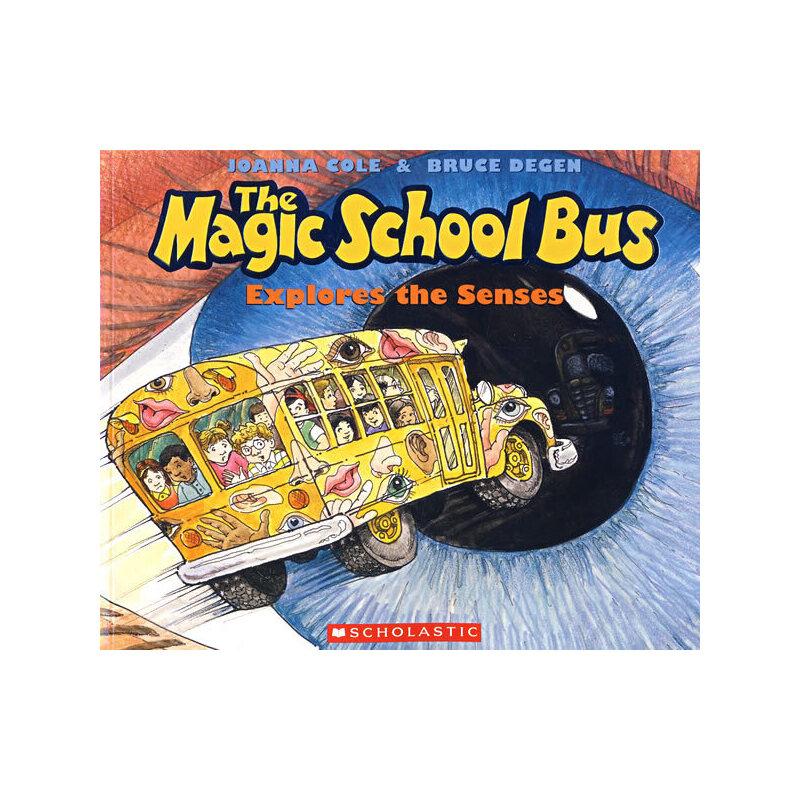 Magic School Bus Explores the Senses 神奇校车-探索感官世界 9780590446983