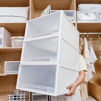 家用塑料抽屉式收纳箱收纳盒衣柜收纳神器整理箱衣服储物箱收纳柜