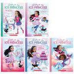 英文原版绘本 Diary of an Ice Princess1-2 冰公主日记1-2【2册】合售 英语课外阅读提升书