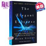 优雅的宇宙:超弦、隐藏的维度和终极理论的询问 英文原版 The Elegant Universe: Superstri