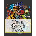 预订 Teen Sketch Book: Blank Doodle Draw Sketch Books [ISBN:9