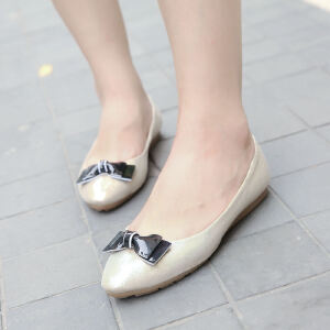 O'SHELL欧希尔新品057-1526韩版平底鞋女士豆豆鞋