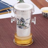 红茶茶具陶瓷泡茶壶家用过滤冲茶器泡茶器玻璃茶杯套装