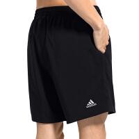 adidas阿迪达斯羽毛球服运动裤男款跑步训练健身短裤