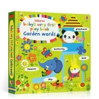 【顺丰速运】英文原版 Baby's very first play book garden words 宝宝玩玩游戏书