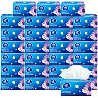 维达 抽纸巾 卫生纸超韧抽取式纸巾3层130抽*24包批发整箱家庭装