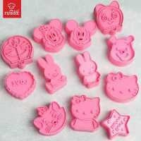 曲奇饼干模具3d立体卡通磨按压式小可爱做饼干的烘焙家用烘焙工具