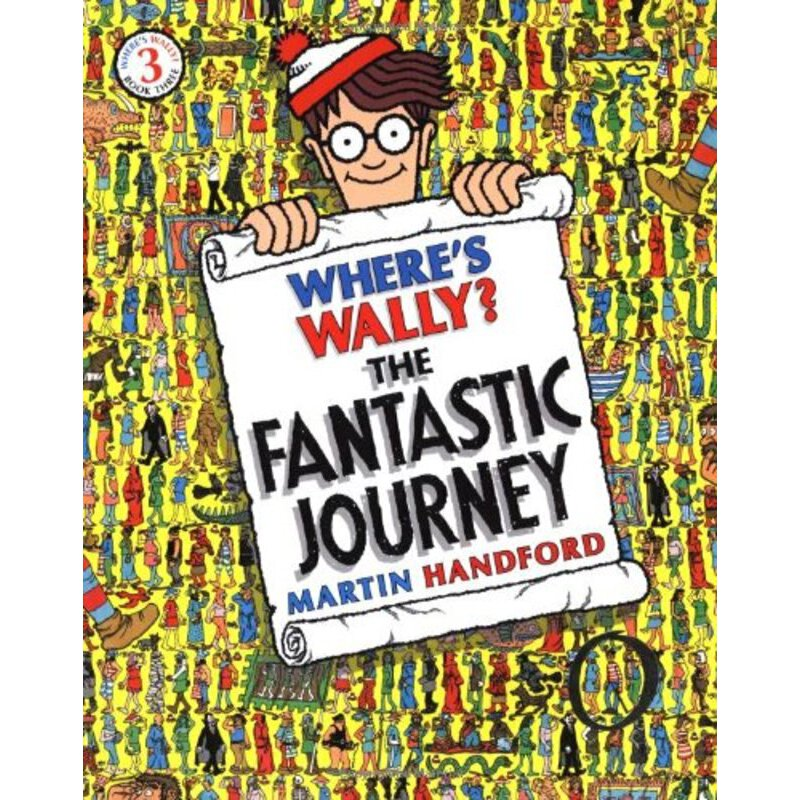 Where's Wally? The Fantastic Journey     ISBN:9781406305876