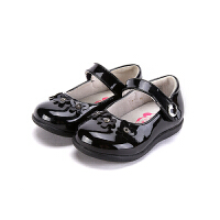【99元任选3双】迪士尼Disney童鞋女童休闲皮鞋宝宝鞋 CS1086