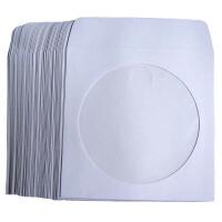 光盘包装纸袋 CD/DVD袋 磁盘存储 白纸袋 光盘袋 包装纸 100个/包